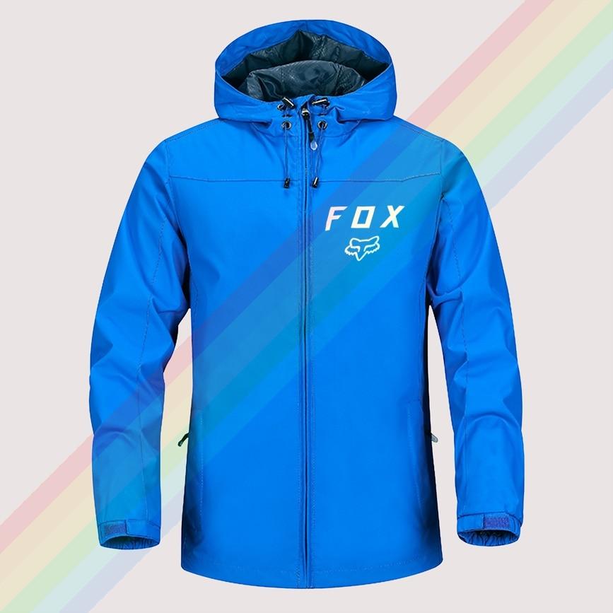 2021 fox Mtb Ranger Outdoor Mountaineering Windproof Jacket Hooded comfortable Men Women Fashion High Quality