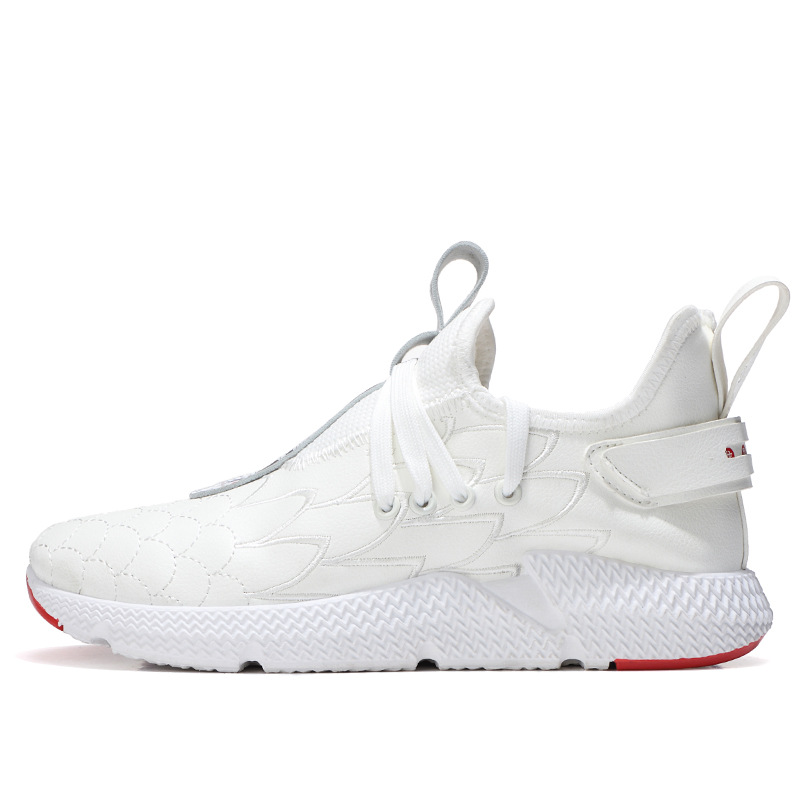 Spring And Summer New Style Wenwushuangquan Chinese-style MEN'S Casual Shoes Hidden Elevator Breathable Sneakers Zhong Gao Bang