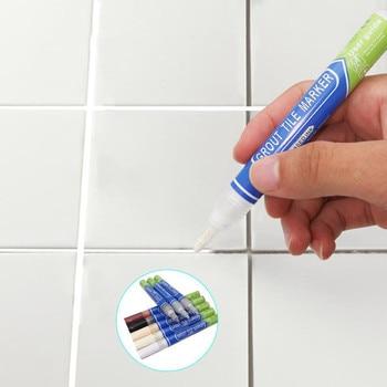 Tile Beauty Styling Pen Bathroom Waterproof and Mildew Grout Marker Repair Pen Bathroom Paint Cleaner Waterproof #Y5