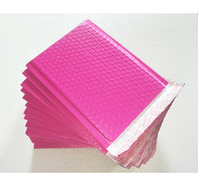 50pcs/pack outer size 180*230mm Poly bubble Mailer envelopes Rose Pink / Green use for gift package
