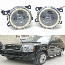For Land Rover Range Rover Sport LS 2006-2013 Car styling New Led Fog Lights 30W DRL Angel Eyes Fog Lamp 2pcs цены онлайн