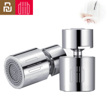 Youpin Diiib Kitchen Faucet Aerator Water Tap Nozzle Bubbler Water Saving Filter 360 Degree Double Function 2 Flow Splash proof