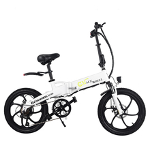 цена на Fast Delivery 20 Inch 48V 10AH 350W Folding Electric Bicycle