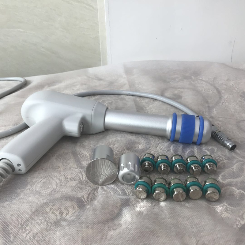 Hot Sale Treatment Handle For Physiotherapy Penumatic Shockwave Shock Wave Therapy Machine Sw9