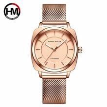 Часы hannah martin женские кварцевые люксовые брендовые модные