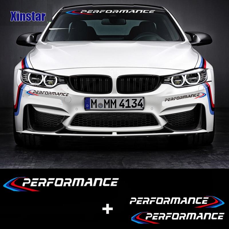 Because BMW Car Die Cut Window Bumper Windscreen Stickers Decal M 3 4 5 6 Series