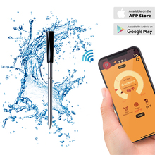 Kitchen Oven Thermometer Wireless Smart BBQ Meat Food Cooking Steak Thermometer Bluetooth Outdoor Barbecue Gifts