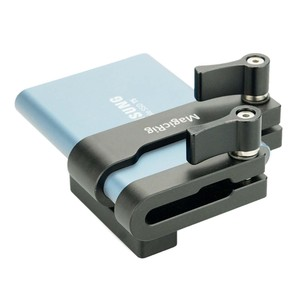 Image 4 - MAGICRIG הר עבור Samsung T5 SSD כרטיס מהדק עם USB C כבל מהדק תואם עם MAGICRIG מצלמה כלוב עבור BMPCC 4K/6K מצלמה