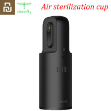Youpin Cleanfly Water Ion Air Sterilization Cup For Car Household Deodorizer Sterilizer Ozone release Air Purifier Quiet Design