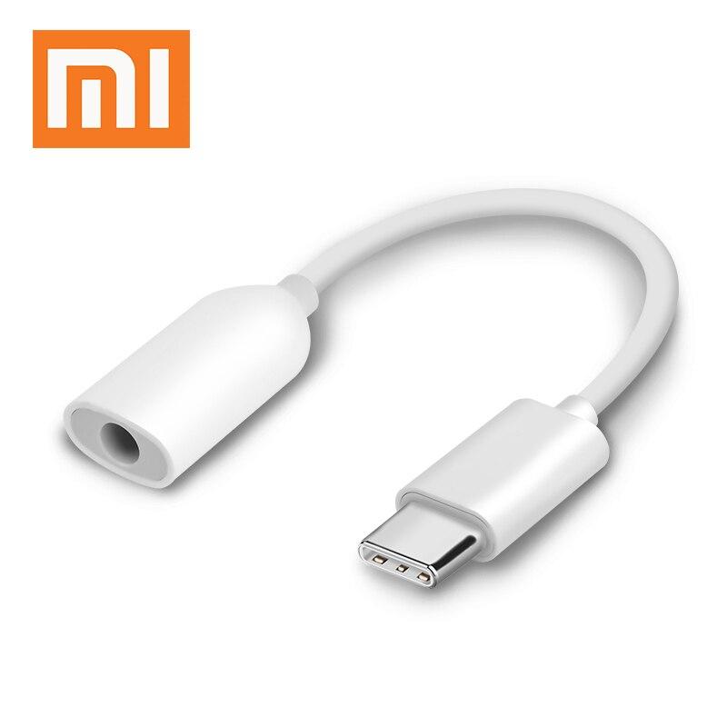 Xiaomi Type-C до 3,5 ММ Наушники Кабель-адаптер Черный Акула MI 8 6 SE A2 MIX 2/2S USB-C Мужской до 3,5 с разъемом подачи внешнего сигнала AUX со штекера на гнездо