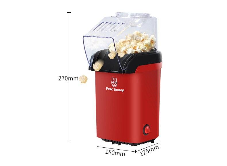 Household Children Automatic Popcorn Machine Mini Household Popcorn Machine