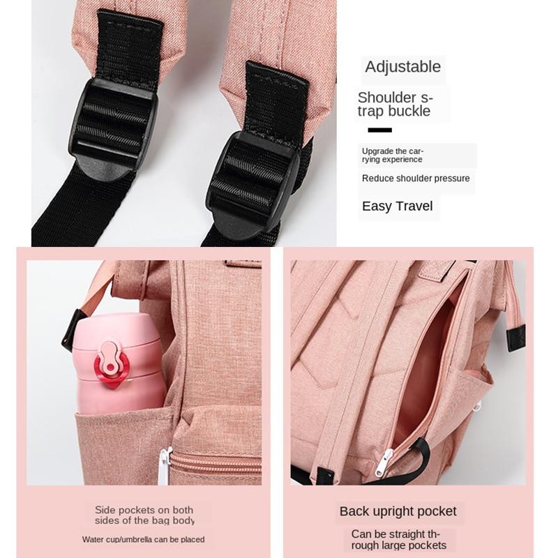 Купить с кэшбэком MABULA  Fshion Feminine School Backpacks Waterproof Student Daypack Large Capacity Travel Backpack with Soft Handle