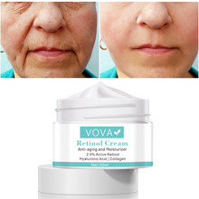 Retinol Face Cream Eye Cream Serum Set Lifting Anti Aging Anti Eye Bags Remove Wrinkles Moisturizer Facial Treatment Korean Care