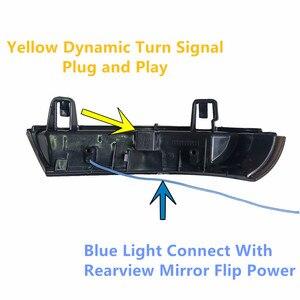 Image 5 - 2x dinâmico led turn signal light side espelho indicador blinker para vw passat b6 golf 5 jetta mk5 passat b5.5 gti v sharan excelente