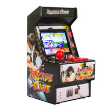 3 Inches TFT LCD Screen Arcade Mini Arcade 16 Bit Arcade Game Classic Household Indoor Entertainment Game Console - Black