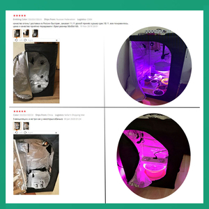 Image 5 - BEYLSION 600D Crescere Tenda Crescere Box Crescere Tenda Interna Coltura Idroponica Tenda Crescere Le Piante In Camera Tenda Per La Coltivazione di Piante Serra + kit corda