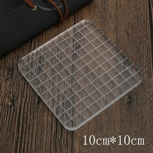 Acrylic Clear Stamp Block Rubber Silicone Stamps Essential Stamping Tools for Scrapbooking Crafts Making