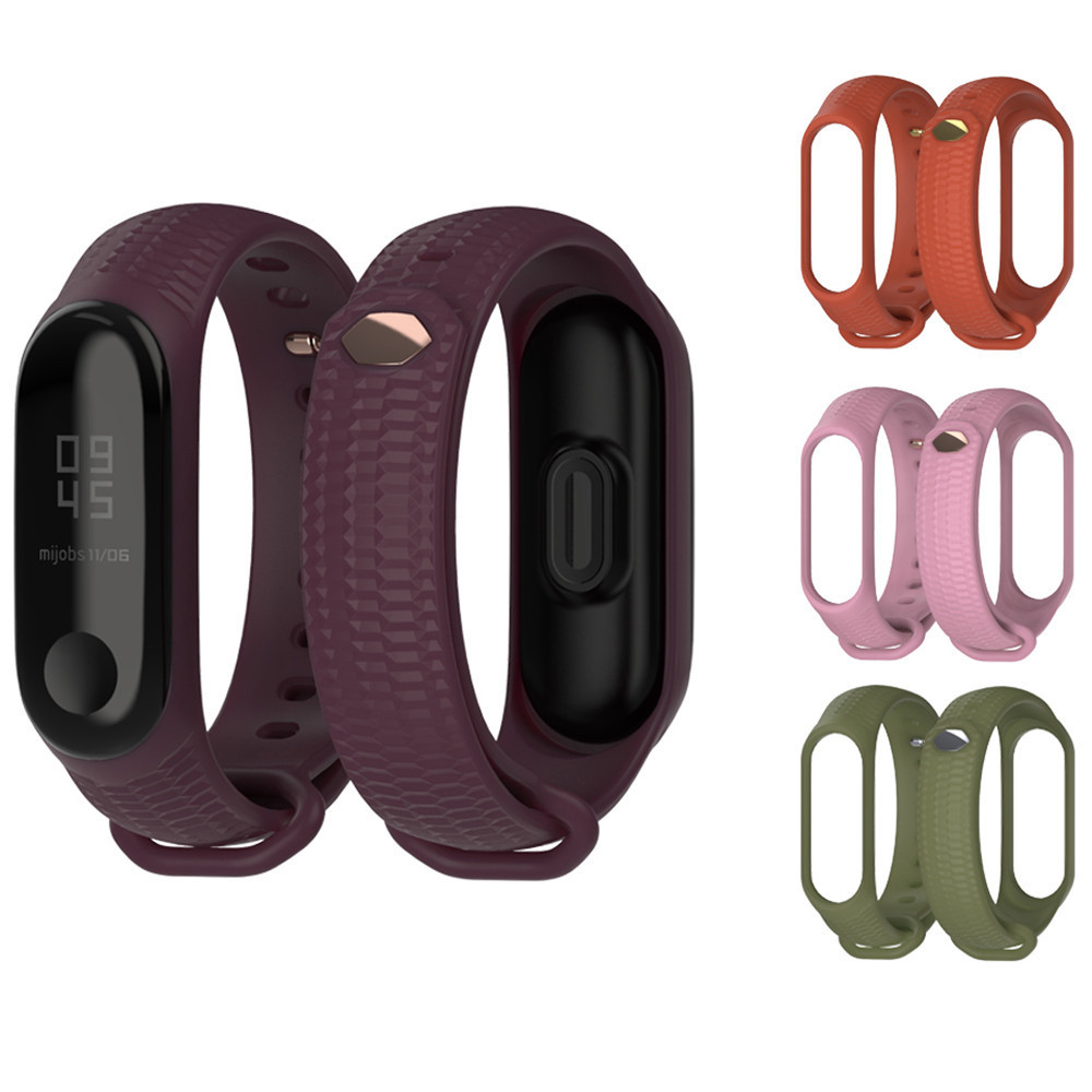 Wrist-Strap-for-Xiaomi-Mi-Band-3-Soft-Silicone-band-strap-for-Miband-3-Breathable-Sport