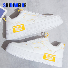 White Sneakers Women Casual Shoes Shallo