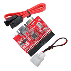 SATA to IDE Adapter / IDE to SATA Converter With SATA Cable Power Cable For HDD DVD CD