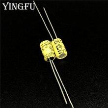 10 pces 10uf 16v elna CE BP 4x7mm 16v10uf capacitor de áudio bipolar