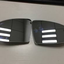 For VW Golf 7 7.5 GTI R Lane Change Assist System Rearview Mirror Glass Lens