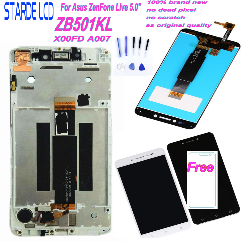 Assembly Lcd-Screen-Display Touch-Panel A007 Live-Zb501kl Asus Zenfone Frame Digitizer