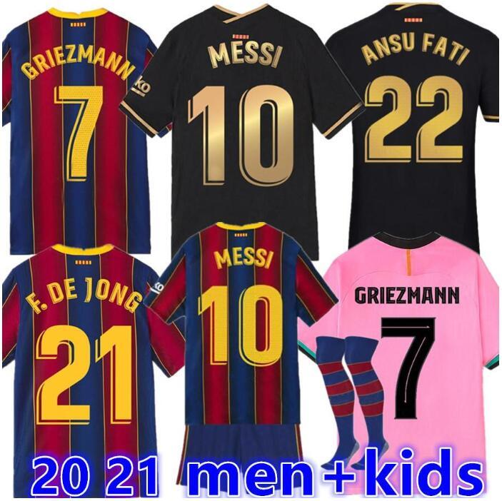 Детские платья + мужчин 20 21 adulto camisa de futebol jérsei Месси Гризманн рубашка de Чен суаресом camisas de futbol maillot de pé camisa de t|Футболки| | АлиЭкспресс
