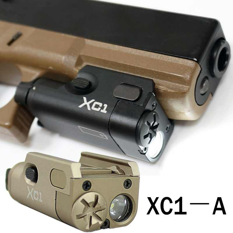 XC1 ULTRA Compact LED Pistol Light Mini Rifle Gun Zaklamp Glock Tactische Militaire Airsoft Arma Jacht Wapen Licht
