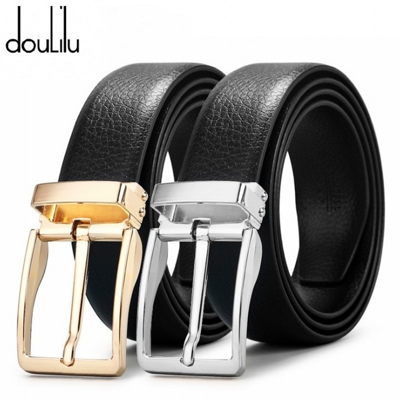 2019 Summer Brand Genuine Leather Pin Buckle Vintage Casual Jeans Men Belt Orange White Cowbody Belts For Men Long 105-125cm