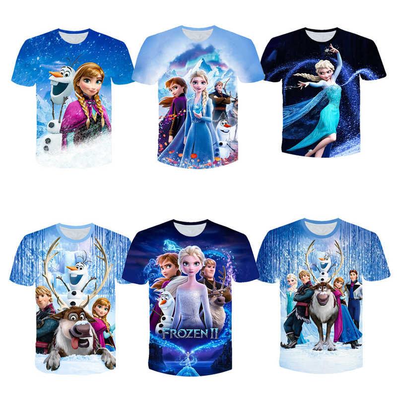 Frozen Unisex 3D Graphic All Over Printed T-shirt 3D Tank Top 3D
