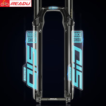 2021 rockshox sid decalques mountain bike garfo dianteiro adesivos mtb bicicleta garfo dianteiro decalques adesivos finais