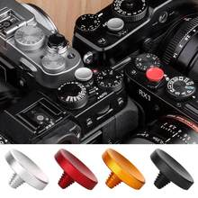 4 pçs durável disparadores botão de liberação do obturador macio slr micro câmera acessórios para fuji fujifilm xt2 xt3 xt10 xt20 xt30 smallrig
