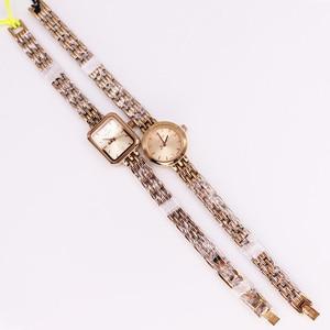 Image 5 - Julius Box reloj Mini dorado de 20mm para mujer, reloj de cuarzo japonés, pulsera pequeña, cadena, regalo de cumpleaños