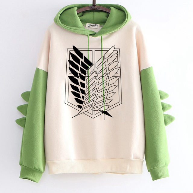 ATTACK ON TITAN THEMED HOODIE (23 VARIAN)