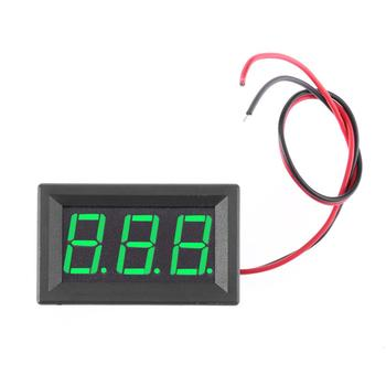 DC4.5V to 30V Digital Voltmeter Voltage Panel Meter High Measuring Accuracy for Electromobile Motorcycle/Automobile/Battery Car image