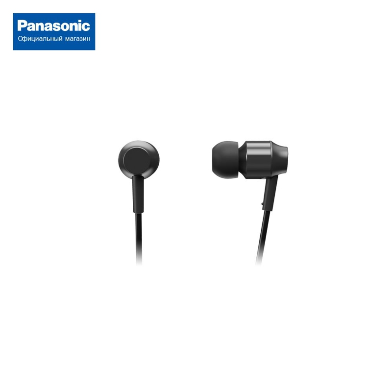 In-ear headphones with mic for Panasonic RP-HDE3MGC-K universal in ear earphone w mic cable control white yellow green 3 5mm plug