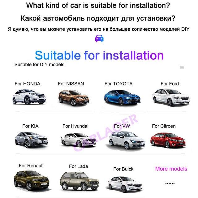 Coche 2 din Android radio reproductor Multimedia 9 pulgadas 2G RAM para Toyota Volkswagen Hyundai Kia Renault Nissan Suzuki Honda Audi Lada