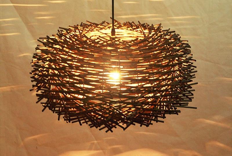 de Pássaro Casa de Bambu Chapéu De