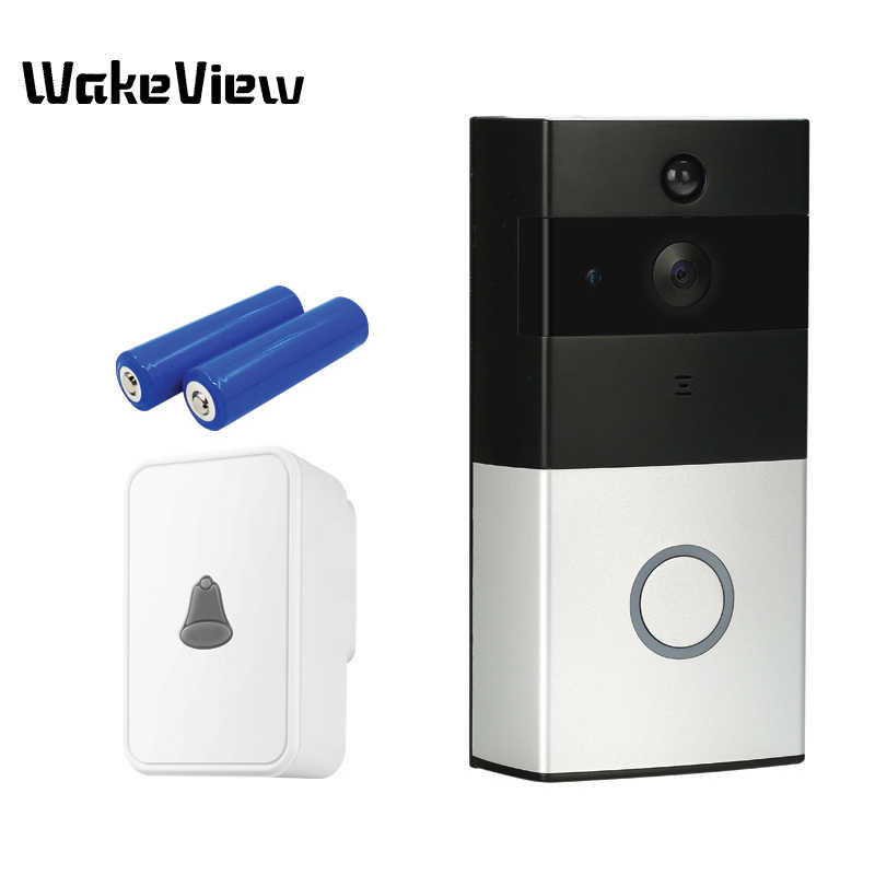 WakeView HD 1080P видео дверной звонок Интерком WiFi Smart Life приложение управление ИК беспроводной дверной Звонок IP камера домашний монитор безопасности PIR