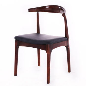 Nordic solid wood dining chair back chair home chair president chair computer chair horn chair study desk chair office chair фото