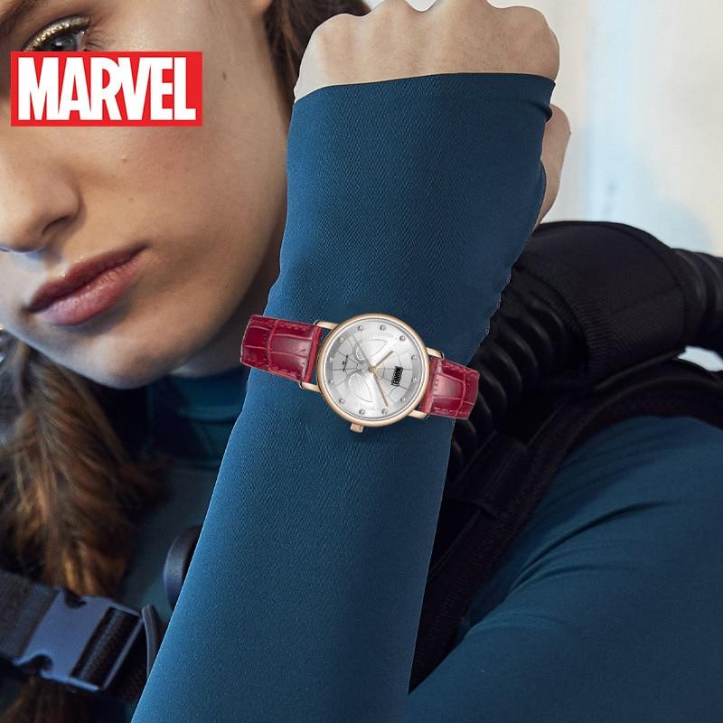 Disney Marvel Quarzuhr Gürtel Casual Persönlichkeit Student Wasserdichte Uhr Frauen Uhren Fashion & Casual 3Bar Schnalle Legierung - 4