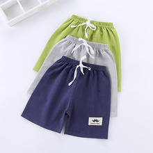 Summer Pants Trousers Shorts Toddler Baby-Boys-Girls Kids Cotton Infant Solid Knee-Length