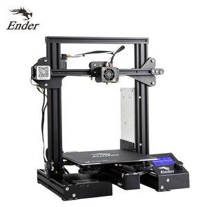 CREALITY 3D Ender-3 / Ender-3 PRO 3D Stampante Aggiornato Magnete Costruire Mancanza di Piastra di Stampa di Potenza MeanWell 6.19 Consegna(China)
