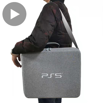 Carry For Sony PS5 Bag Carrying Travel Game Console Playstation5 Playstation PS 5 Case Storage Accessories Tool Hard Shell Pouch 1