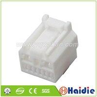 O envio gratuito de 2 conjuntos 8pin cablagem automática conector plástico elétrico 6098-2103