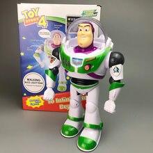 Disney Juguete historia 4 Juguete Woody Buzz Lightyear música/luz con muñeca con alas figuras de acción de Juguete para niños cumpleaños regalo S03