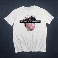 Vaporwave, Мужская футболка, аниме, футболка, топы для мальчиков, короткий рукав, футболка, одежда для мужчин, новинка, просто расцветка, Just Break It