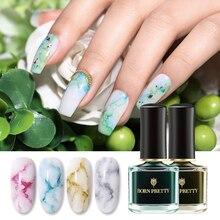 BORN PRETTY Watercolor Ink Nail Polish 6ml Smuoce Blossom Nail Polish Nail Art Varnish Long-Lasting DIY Design Manicure цена