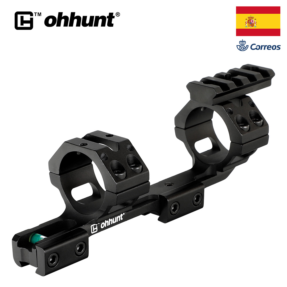 Ohhunt 25.4/30mm Offset Scope Rings Mount 11mm 3/8